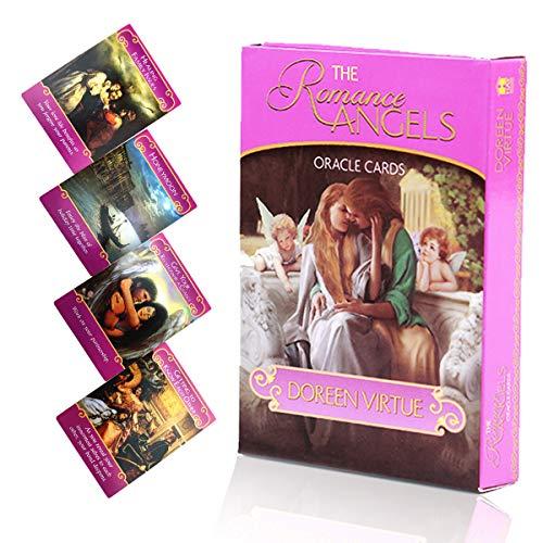 Tarjeta romántica de Angel Oracle, Tarjeta de Amor Sagrado, Tarjeta de predicción del Destino, para Hacer la Vida más apasionada, la Mejor Tarjeta de Juego y el Regalo de Amor