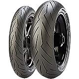 Gomme Pirelli Diablo rosso 3 180 55 ZR17 M/C (73W) TL per Moto