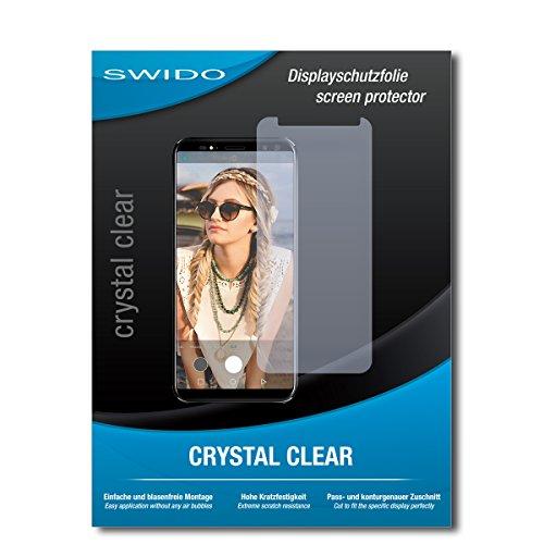 SWIDO displaybeschermfolie voor M-Horse Pure 3 [3 stuks] kristalhelder, extreem krasbestendig, bescherming tegen olie, stof en krassen/glasfolie, displaybescherming, beschermfolie, pantserfolie