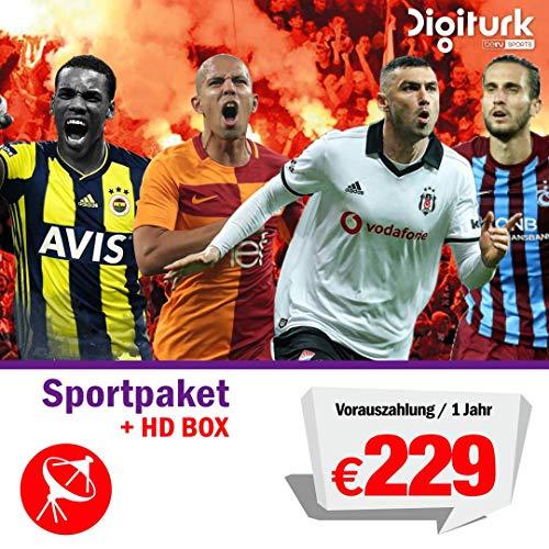 Digitürk Euro Bein Sport TR Satélite - Juego de Accesorios para la Familia y el Deporte