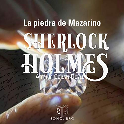 La piedra de Mazarino [The Stone of Mazarin] audiobook cover art