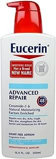 Eucerin Advanced Repair Dry Skin Lotion 16.9 oz (Pack of 2)