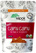 Kapok Naturals Camu Camu Powder Organic Raw Wholefood Vitamin C 3 oz. High in Antioxidants & Strengthens Immune System. Our Camu Berry has 9x the Vitamin C of an Orange. Enjoy!