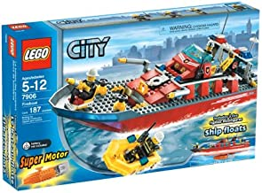 LEGO City Fireboat