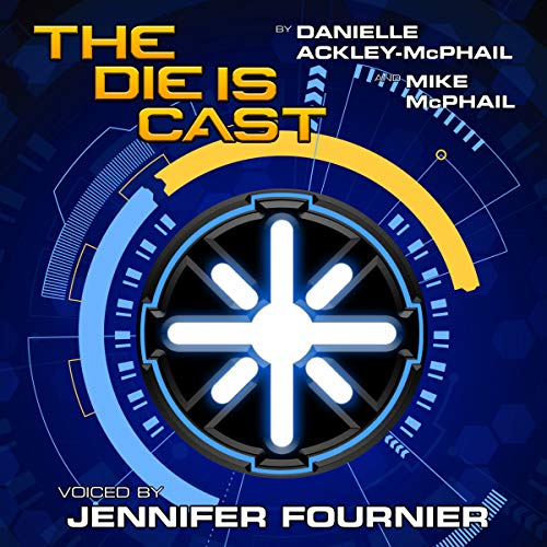 The Die Is Cast audiobook cover art