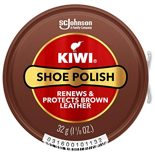 KIWI Paste Polish, Brown, 1.125 oz
