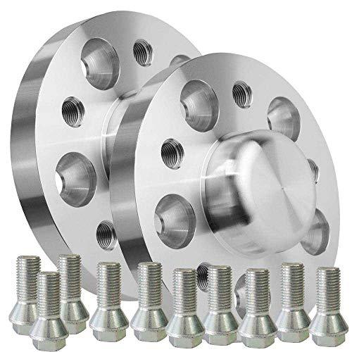 SCC - Separadores de rueda (2 x 20 mm, 5 x 112 NLB 66,6 13361S_MER Mercedes-Benz Clase E Combi Clase S Coupe SL C)
