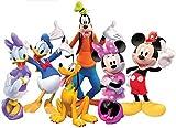 Vinilo Decorativo Infantil de Pared Disney Mickey y Sus Amigos – Autoadhesivo de fácil colocación – Habitación Infantil – 43x60