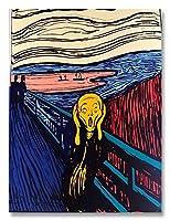 ポスター アンディ ウォーホル Sunday B Morning The Scream orenge (After Munch) 限定1500枚 証明書付