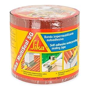 Sika Multiseal SG, Banda autoadhesiva impermeabilizante, Rojo, 15cm x 12ml