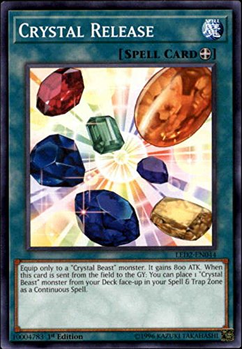 2018 Yu-Gi-Oh Legendary Duelists: Ancient Millennium 1st Edition #LED2-EN044 Crystal Release C