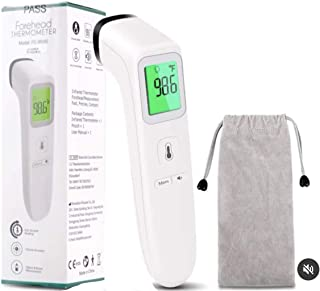 American Living Essentials Medical Grade Non-Contact Infrared Thermometer for Body, Surface, Room. Accurate Fever Detection for Babies & Adults
