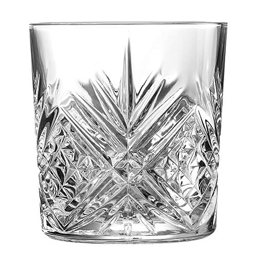Arcoroc ARC L7254 Broadway Whiskyglas, 300ml, Glas, transparent, 6 Stück