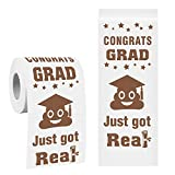 Toilet Paper 2021 Happy Graduation College High School Graduation Toilet Paper Gifts Idea Prank Funny Gag Graduation Decorations Party Favors