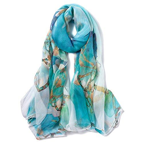 STORY OF SHANGHAI foulard seta 100%