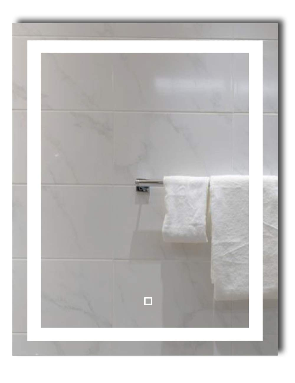 Dimmable Bathroom Vertical Horizontal Installation