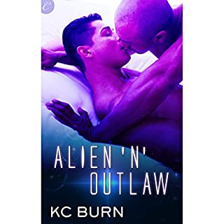 Alien 'n' Outlaw audiobook cover art