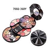 Ablerfly Paleta de Maquillaje de Sombra de Ojos, Maquillaje de Paleta Incluye Sombra de Ojos de 43 Colores, Polvo de Cejas de 4 Colores, Rubor de 4 Colores, lápiz Labial de 4 Colores, Polvo Enjoyment
