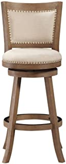 Boraam Melrose Bar Height Stool, 29-Inch, Driftwood