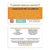 I Have Multiple Sclerosis Assistance Card 3 pcs