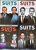 Suits : Complete Seasons 1- 4 Bundle Collection (15-Disc, DVD, 2015)