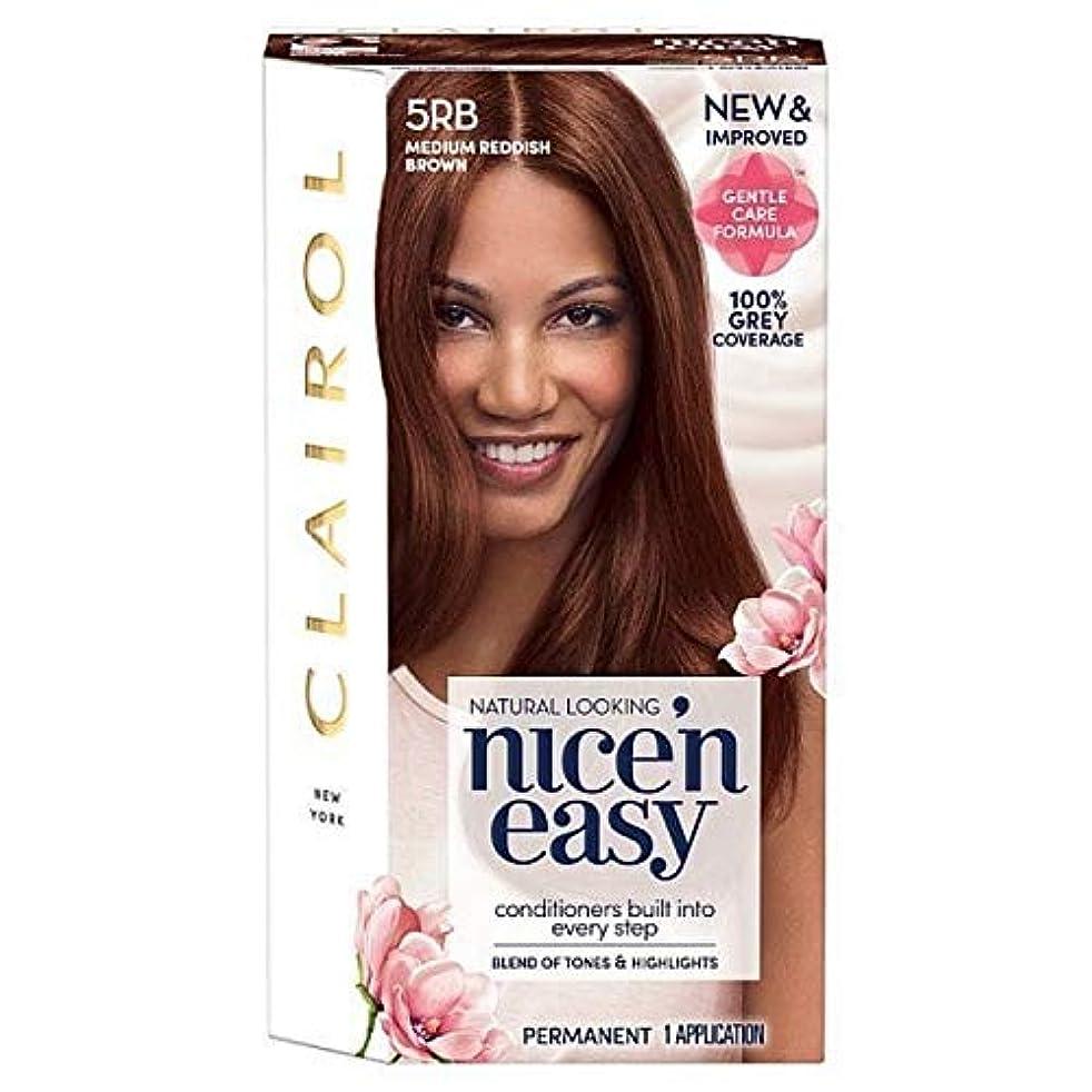 コンパイル以上窒息させる[Nice'n Easy] 簡単5Rb中赤褐色Nice'N - Nice'n Easy 5Rb Medium Reddish Brown [並行輸入品]