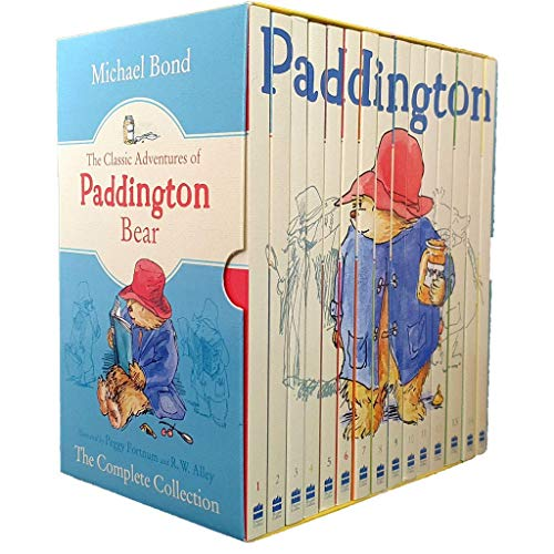 The Classic Adventures Of Paddington Bear The Complete Collection (15 Book Set Slipcase Edition)