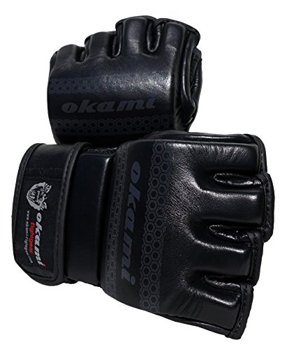Oami Fightgear Hi-Pro Trainings-Boxhandschuhe L schwarz