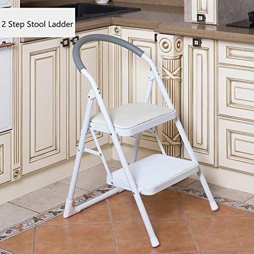yjll trapladder keuken 2 trapladder stoelen strijkijzer kleine inklapbare slipvaste ladder draagbare voetenbank/trapladder/plank/bloemenrek