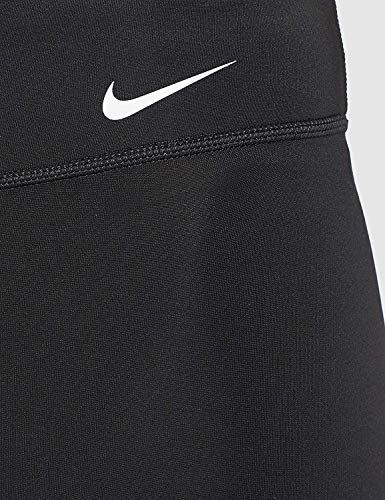 NIKE W One Tght Hbr JDI Sport Trousers, Mujer, Black/White, L