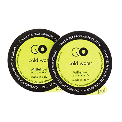 Millefiori Milano 13rgcw Agua fría cápsulas–Recambio para ambientador para Coche Go