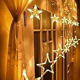 4. Avoalre - Cortina LED de estrellas