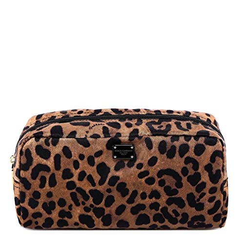 Luxury Fashion | Dolce E Gabbana Donna BI0932AM115HA93N Beige Beauty Case | Primavera Estate 19