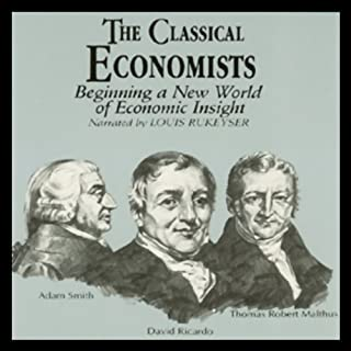 The Classical Economists audiobook cover art