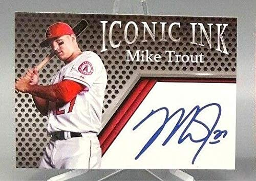 Iconic Ink Mike Trout 2019 Autographed Edition Baseball Card product image