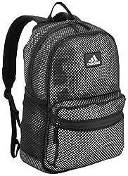 cheap Adidas Unisex Hermosa II Mesh Backpack Black, One Size