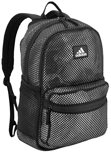 adidas Unisex Hermosa II Mesh Backpack, Black, ONE SIZE