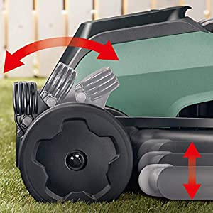 Bosch Akku Rasenmäher CityMower 18 (1 Akku, 18 Volt System, Rasenflächen bis 300 qm, im Karton)