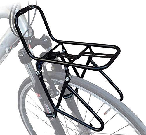JXS-outdoor Front-Gepäckträger - Mountainbikes - Stahl Material ist Nicht leicht zu Rust - Kann 15KG Carry