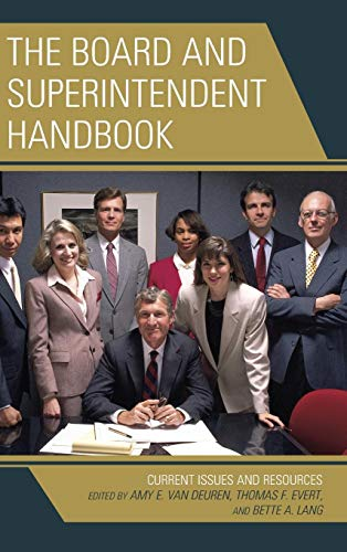 Board and Superintendent Handbook