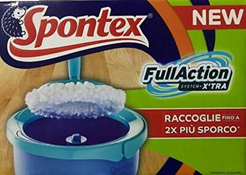 Spontex Full Action System Plus Set de Balai à franges + 4 recharges