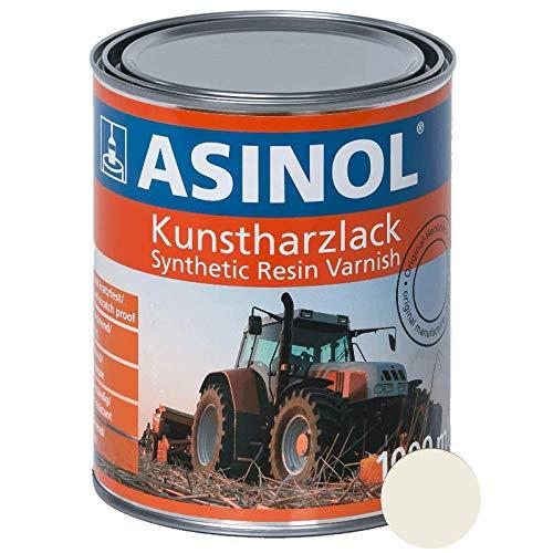 ASINOL IHC weiss weiß 1.000 ml Kunstharzlack Farbe Lack 1l Liter Dose
