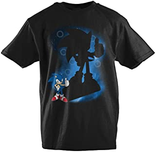 e64ae96a58e0 Bioworld Sonic The Hedgehog Spotlight Youth Short-Sleeve T-Shirt