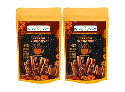Lotustoday Cinnamon chai, 40 Tea Bags, Made of Organic Ceylon Cinnamon | True Cinnamon