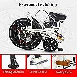 Zoom IMG-1 unisex sospensione bici pieghevole 20
