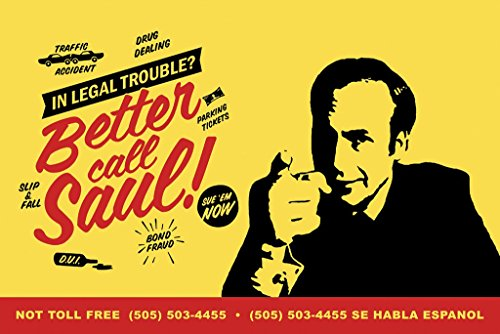 Poster Better Call Saul, TV Show 24in x 36in