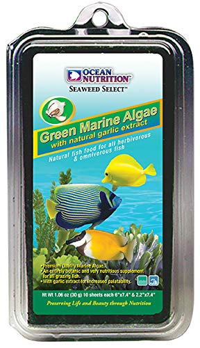 Ocean Nutrition Seaweed Selects Green Marine Algae 10-Sheets 1.0-Ounces (12 Grams)