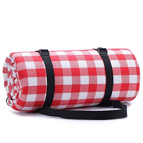 Waschbar Outdoor Picknick Decke Mit Wasserdichter PEVA Unterseite Wärmeisoliert Stranddecke Campingdecke (Size : 2 * 2)