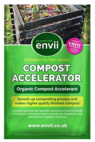 Envii Compost Accelerator - Acceleratore Compostaggio Organico - 12 Pastiglie