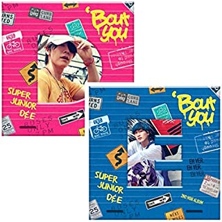 SUPER JUNIOR D&E [BOUT YOU] 2Ver Set+Photo Book+Photo Card+Tricking Number K-POP SEALED